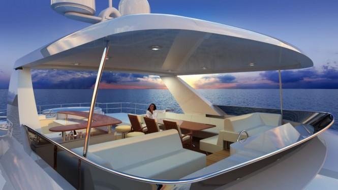 90ft Explorer Motor Yacht by All Ocean Yachts and Luiz de Basto designs