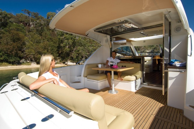 Riviera Exhibits 5000 Sport Yacht At The Boot Dusseldorf
