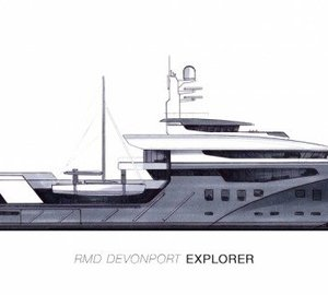 Introducing the DEVONPORT 3000e Explorer Superyacht Design