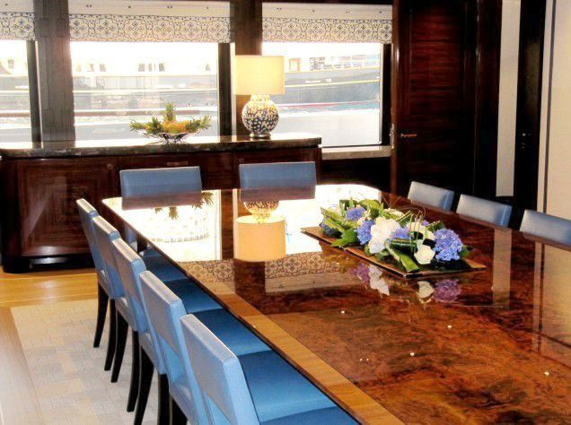 ICON Yachts Superyacht Baton Rouge - Dining