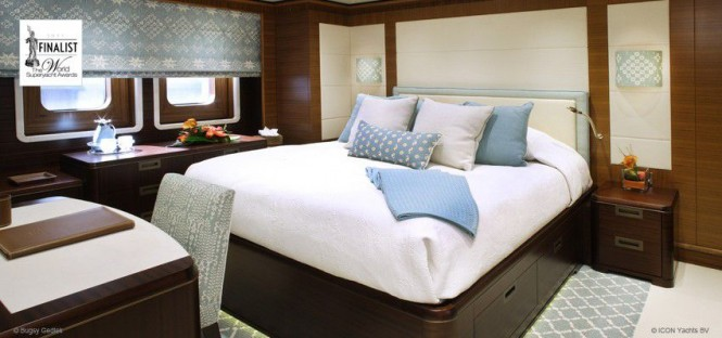 ICON Yachts Superyacht Baton Rouge - Staterooms