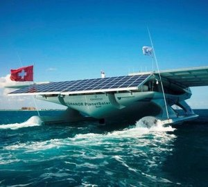 MS TÛRANOR PLANETSOLAR continues World Tour