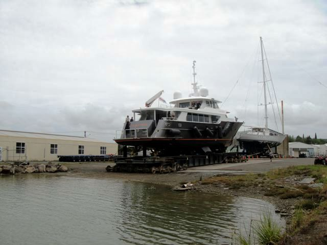 Motor yacht Black Pearl by Diverse Projects launching
