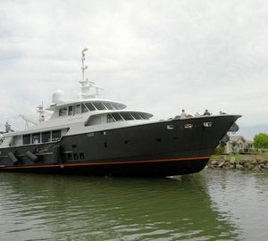 Motor yacht Black Pearl by Diverse Projects and LOMOcean Design launched