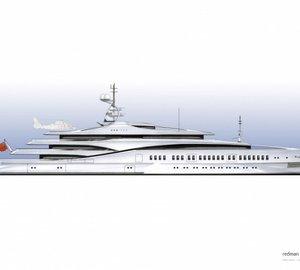 The Devonport ONE TEN Superyacht Design by Redman Whiteley Dixon