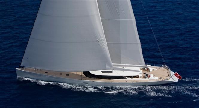 Sailing Yacht ZEFIRA, BEST SAILING YACHT IN 45M+ SIZE RANGE at 2011 World Superyacht Awards