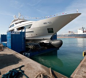 Sanlorenzo Launches Motor Yacht CAROL, the Second 46 Steel