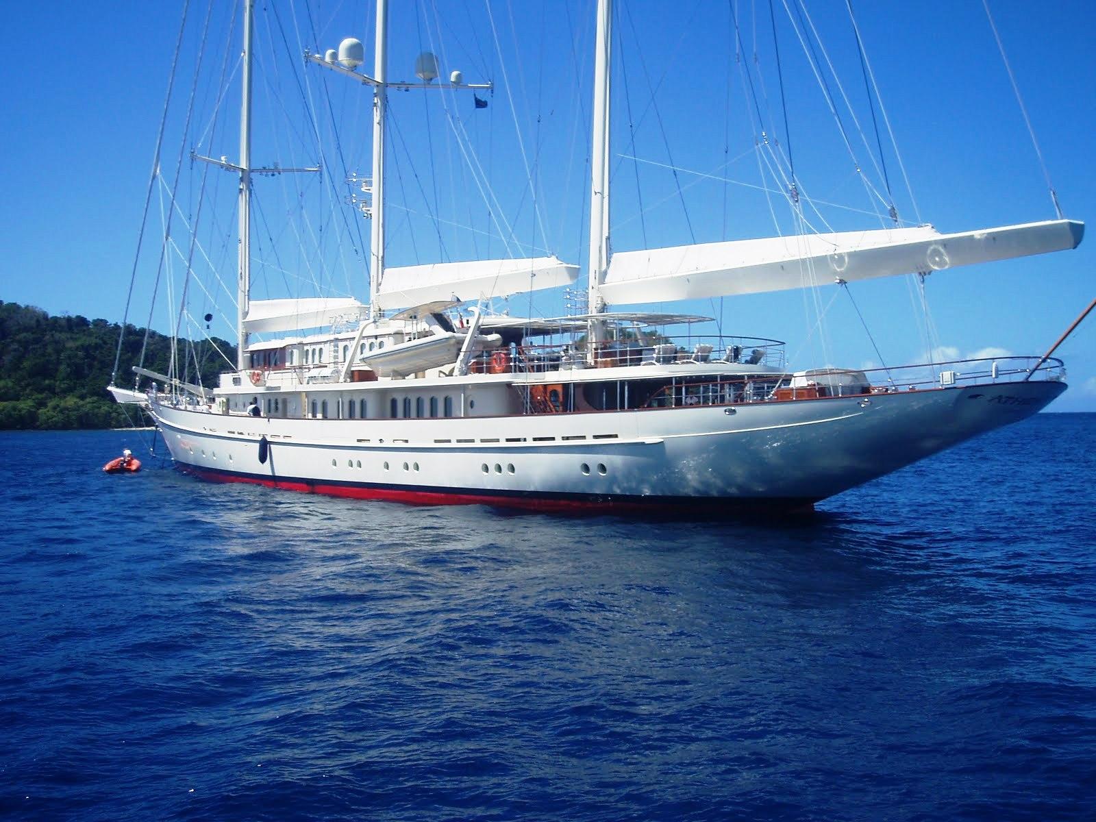 super yacht athena in fiji  u2014 yacht charter  u0026 superyacht news