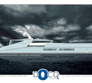 38m Motor yacht Blackout by Docq Concepts