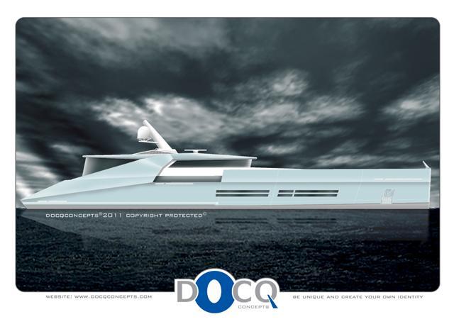 38m Motor yacht Blackout by Docq Concepts