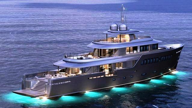 45.05 Explorer Motor yacht Project 500 by MondoMarine