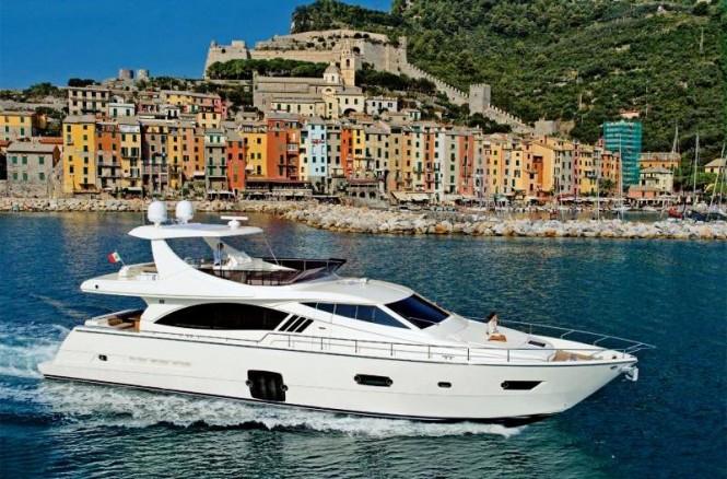 Ferretti 750 Motor Yaht - Credit Ferretti Yachts