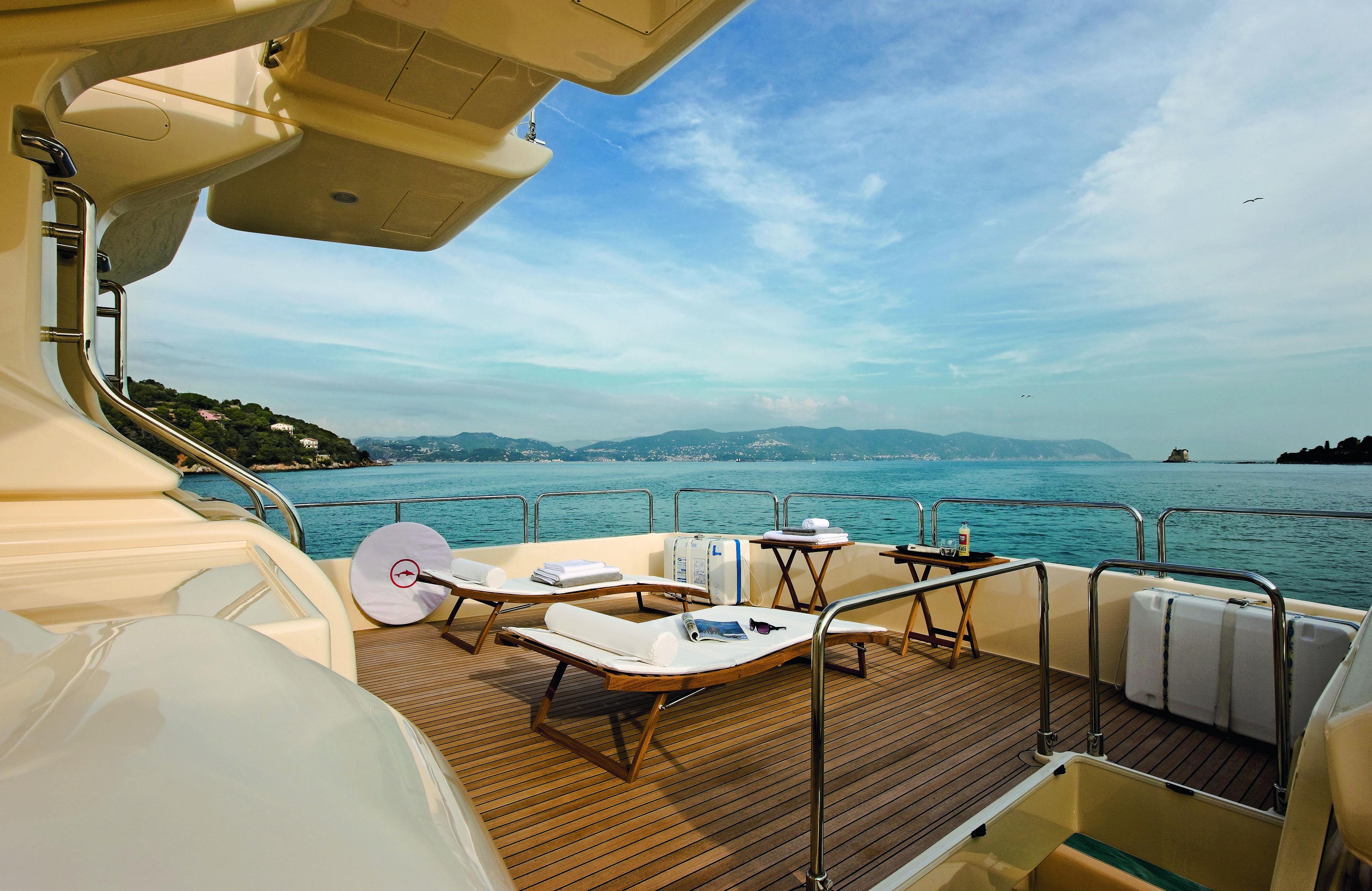 Mochi Craft Long Range 23 Motor yacht Flybridge