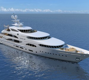 """Motor yacht D250 – """"3 TIMES A LADY"""" Diana Yacht Design Series"""