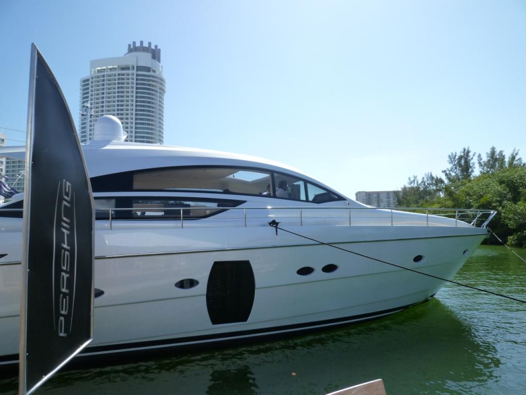 Pershing Motor Yachts at Miami Boast Show 2011