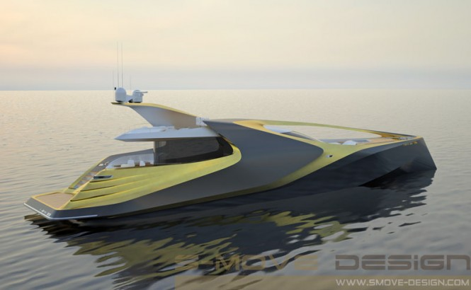 X-SYM 125 Yacht Project by S-MOVE Design