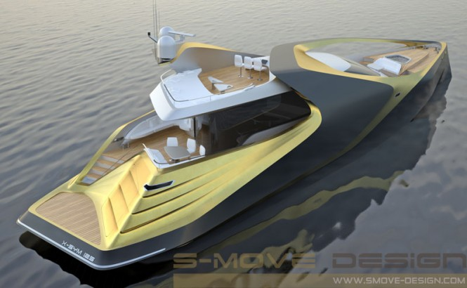 X-SYM 125 Superyacht Project by S-MOVE Design