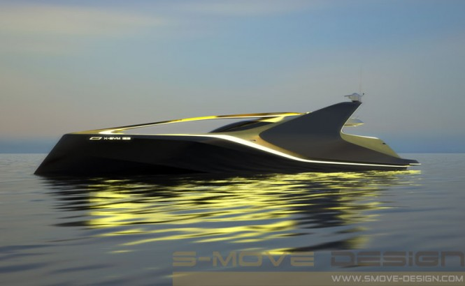 X-SYM 125 Motor Yacht Project by S-MOVE Design