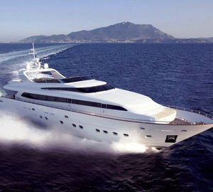 Canados 116' motor yacht launched by Canados