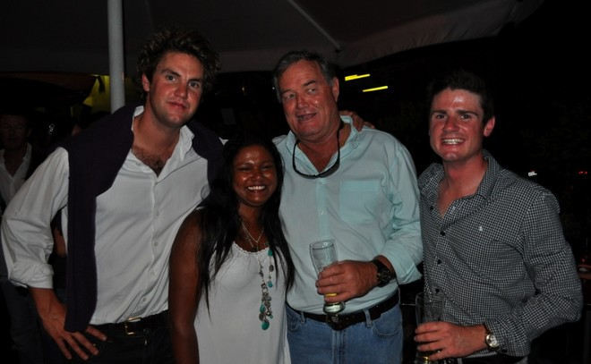 Crew of SY Yanneke Too at the Superyacht Support Christchurch Earthquake Appeal fundraiser - Credit Ellie Brade