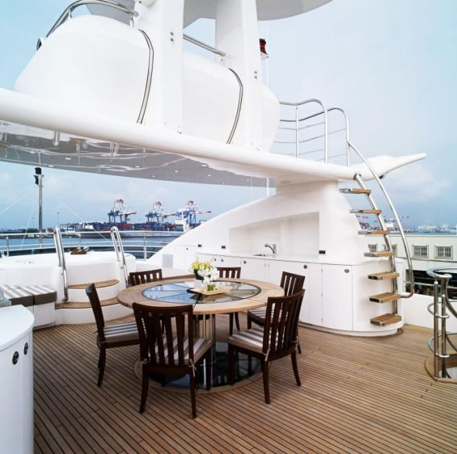 Horizon EP105 Motor Yacht Flybridge – A Long Range Explorer