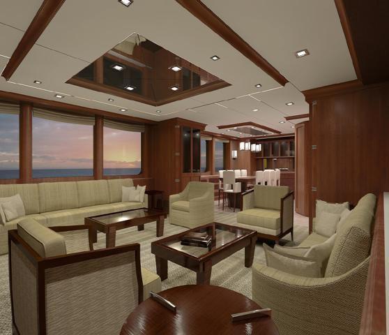 n120 explorer yacht interior by nordhavn  u2014 yacht charter