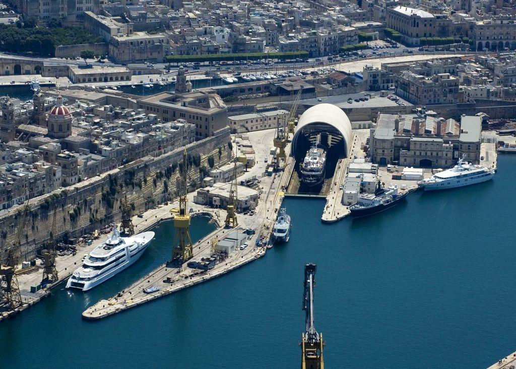 Palumbo Malta Shipyard for Superyachts
