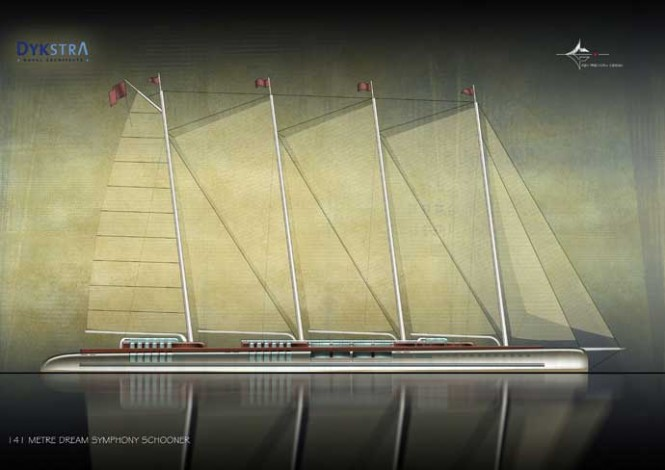 Sailing Yacht Dream Symphony to be built in 2011 at Dream Ship Victory Shipyard