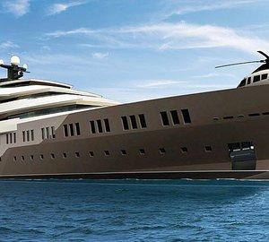 120m Motor yacht PA 122 by Oceanco - A Nuvolari & Lenard superyacht design