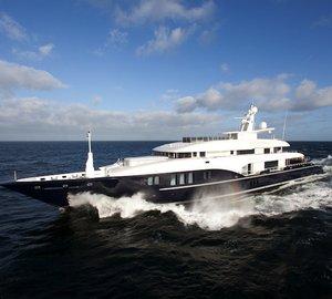 73m Motor Yacht Sapphire by Nobiskrug delivered and sold