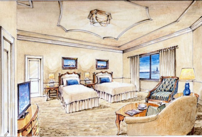 American Cruise Lines Queen of the Mississippi Stateroom