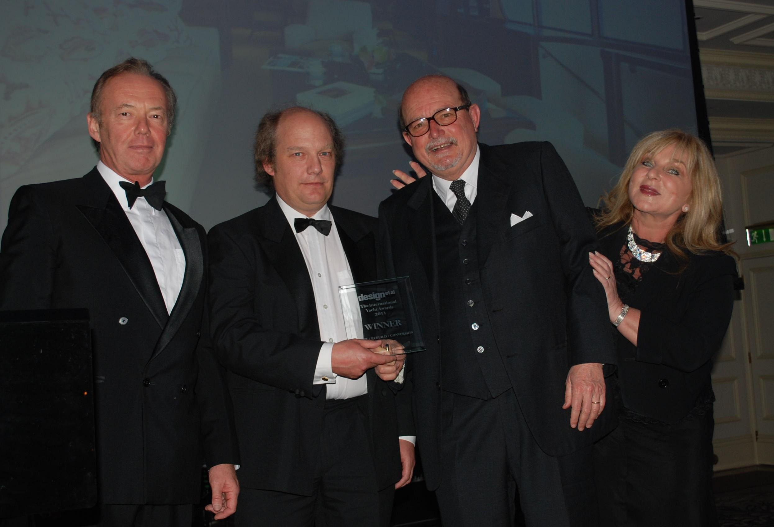 arredamenti porto at the international yacht awards
