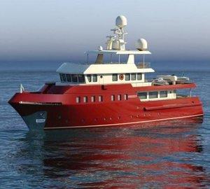 CNP Naumachos 105 Explorer Motor Yacht in Build
