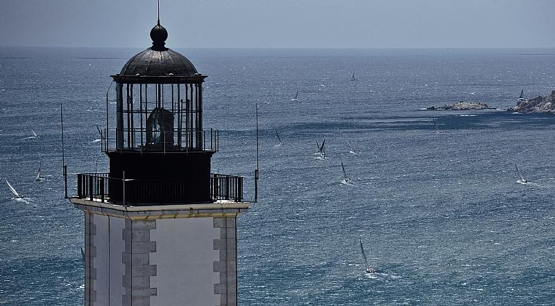 Giraglia Rolex Cup Lighthouse Photo credit Rolex Kurt Arrigo