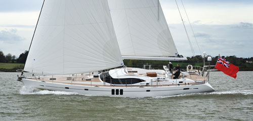 London premiere for new Oyster 625 Sailing Yacht