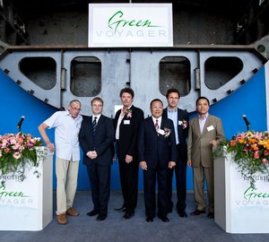 Motor yacht Green Voyager Keel laid in China – A Green Superyacht by Kingship Marine