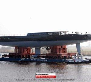 66 Metre Superyacht AGLAIA by Vitters & Dubois