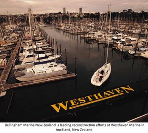Bellingham Marine awarded contract for upgrade of Westhaven Marina Auckland, New Zealand