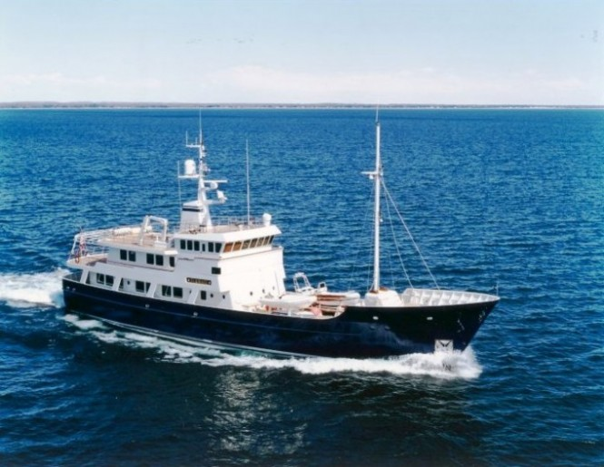 Expedition yacht Dione Sky won the The Voyager's Award at the World Superyacht Awards 2011