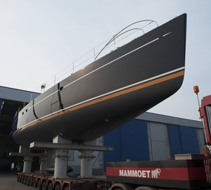 Sailing yacht Ameena re launched by Jongert - The First Jongert refit of 2011