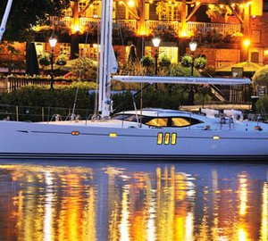 Oyster 625 Charter Yacht Blue Jeannie launched in style by Oyster
