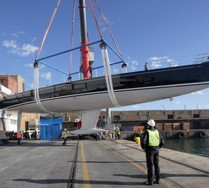 SW 100 RS Sailing Yacht CAPE ARROW launched by Southern Wind – The 3rd SW 100 Raised Saloon