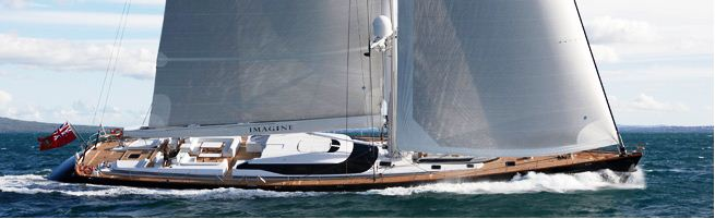 Sailing Yacht Imagine II won the Neptune Award for Top Sailing Superyacht (30-44.99m) at the 2011 World Superyacht Awards