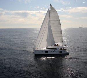 Sunreef Yachts launch charter yacht MUSE – A Sunreef 70 catamaran