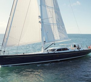 30m Sailing Yacht Antares III by Yachting Developments Sets Sail