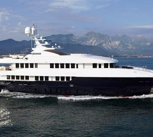 49m Motor yacht Zaliv III delivered by Mondo Marine