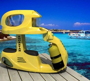 Luxury Yacht Water Toys: Aqua Star Dive Scooter for Two