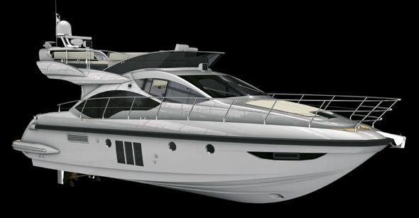 Azimut 45 motor yacht World Debut in Venice — Yacht Charter