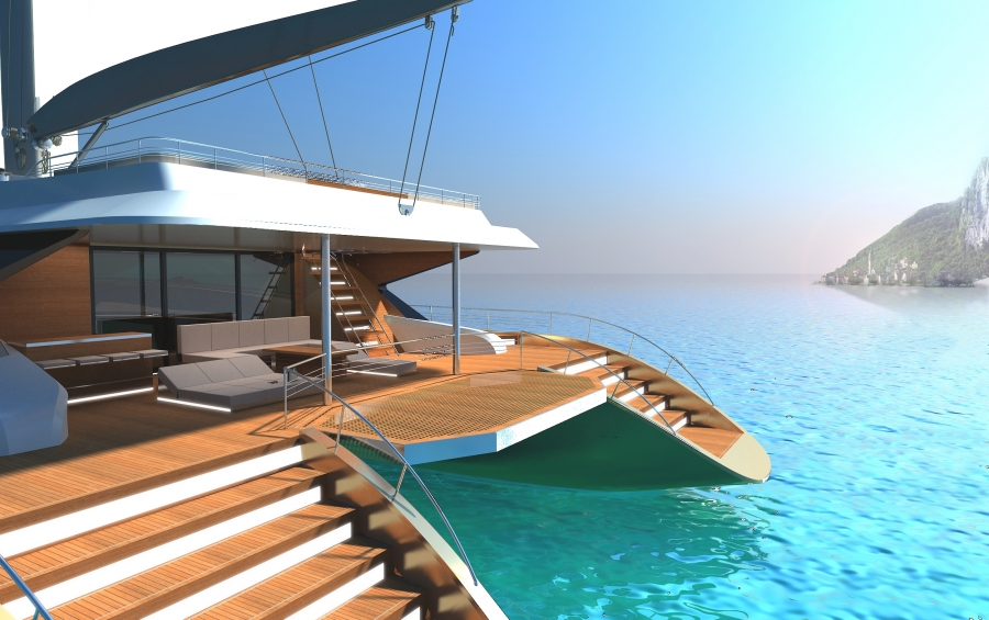 Blue Coast 88 Catamaran