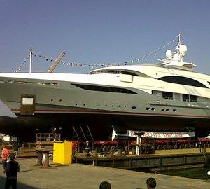 Columbus 177 Motor Yacht Prima by Palumbo nearing launch